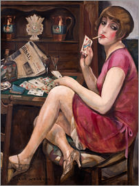 Gerda Wegener - Queen of the Hearts