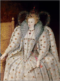 English School - Queen Elizabeth I of England and Ireland