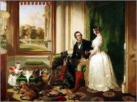 Franz Xaver Winterhalter - Queen Victoria and Prince Albert