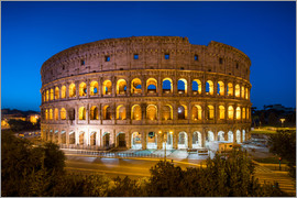eyetronic - Colosseum in Rome at night