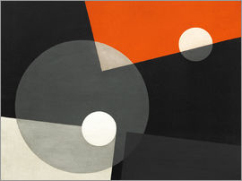 László Moholy-Nagy - Composition On 7