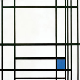 Piet Mondrian - Composition lines color, III.