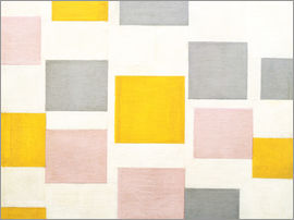 Piet Mondrian - composition with color planes 5