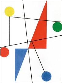Sophie Taeuber-Arp - Composition with dots and lines