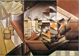 Juan Gris - Composition with clock
