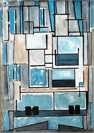 Piet Mondrian - Composition No. VI