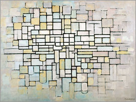 Piet Mondrian - Composition No. II