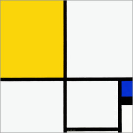 Piet Mondrian - Composition No. II.