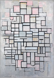 Piet Mondrian - Composition No. IV; 1914