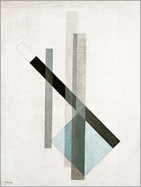 László Moholy-Nagy - Construction (Glass Architecture)