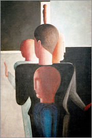 Oskar Schlemmer - Concentric Group