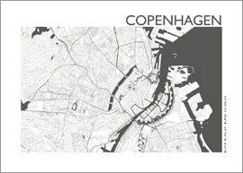 44spaces - COPENHAGEN CARD steelgrey