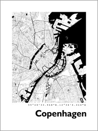 44spaces - Copenhagen City Map HF 44spaces
