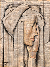 Alfredo Ramos Martinez - Head of a Nun