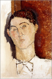 Amedeo Modigliani - Head of a Young Man