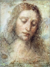 Leonardo da Vinci - head of christ