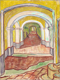 Vincent van Gogh - Corridor in the asylum