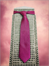 James Popsys - Tie on a London Skyscraper