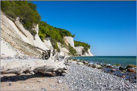 Rico Ködder - Chalk cliffs on the island Ruegen (Germany)