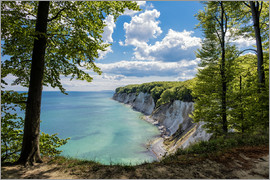 Rico Ködder - Chalk cliff on the island Ruegen in Germany