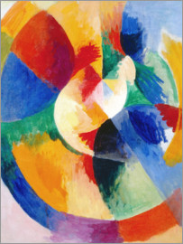 Robert Delaunay - Round forms, sun