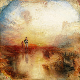Joseph Mallord William Turner - War, the Exile and the Rock Limpet