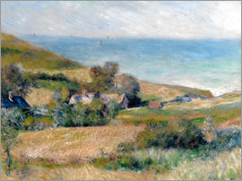 Pierre-Auguste Renoir - Seacoast near Wargemont in Normandy