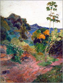 Paul Gauguin - Coastal landscape on Martinique
