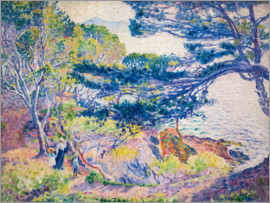 Henri Edmond Cross - Küstenlandschaft (Le cap Layet, petite version). Um 1904.