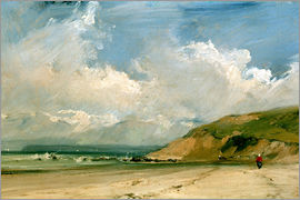Richard Parkes Bonington - Coastal scene