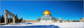 Dome of the Rock mosque in Jerusalem, Israel