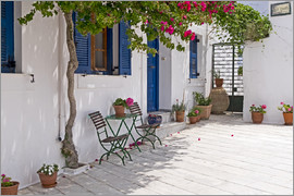 Anna Reinert - Cycladic island of Paros - mountain village Lefkes