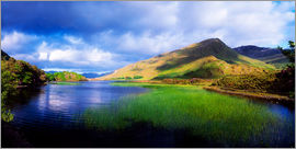 The Irish Image Collection - Kylemore Lake, Ireland