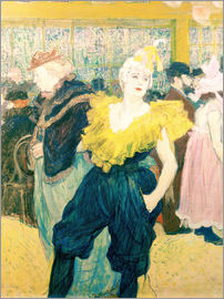 Henri de Toulouse-Lautrec - The Clowness Cha-u-kao