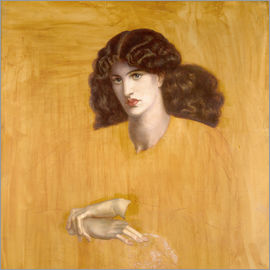 Dante Charles Gabriel Rossetti - La Donna Della Finestra (The Lady of Pity)