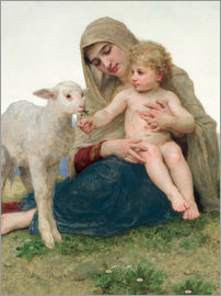 William Adolphe Bouguereau - La Vierge a l'Agneau