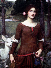 John William Waterhouse - Lady Clare