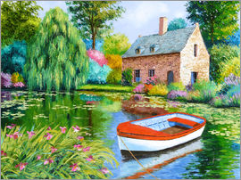Jean-Marc Janiaczyk - The House Pond