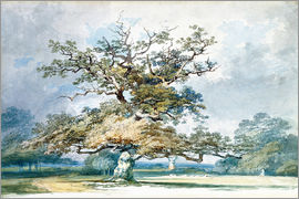 Joseph Mallord William Turner - A Landscape with an Old Oak Tree