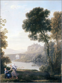 Claude Lorrain - Landscape with Hagar and the Angel