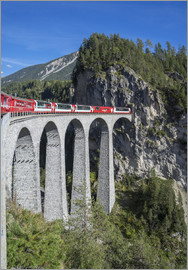 Angelo Cavalli - Landwasser Viadukt, Filisur, Graubunden, Swiss Alps, Switzerland, Europe