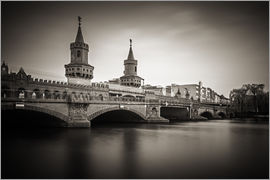 Alexander Voss - Long Exposure: Berlin - Oberbaum Bridge