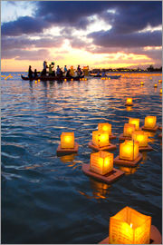Douglas Peebles - Lantern Floating Festival in Hawaii
