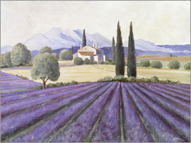 Franz Heigl - Lavender Fields