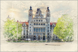 Peter Roder - Leipzig New Town Hall