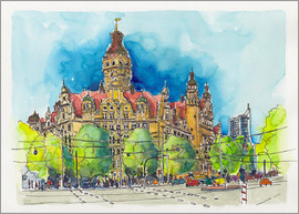 Hartmut Buse - Leipzig New Town Hall