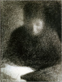 Georges Seurat - Reading woman
