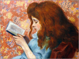 Federigo Zandomeneghi - Girl reading