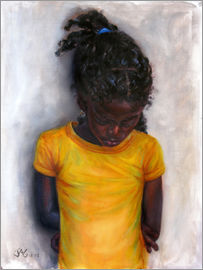 Jonathan Guy-Gladding - lexa with yellow shirt