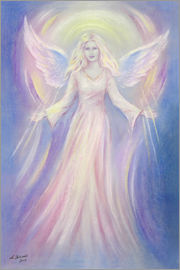 Marita Zacharias - Light and love - Angel painting